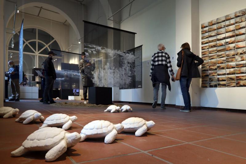 Ausstellungseröffnung, Blick in die Ausstellung